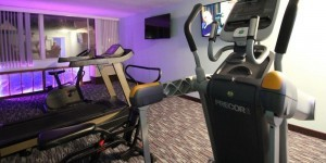 treadmill and cross-trainer